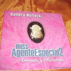 CDs de Música: MISS AGENTE ESPECIAL 2. ARMADA Y FABULOSA. SANDRA BULLOCK. CD PROMOCIONAL. Lote 44366703