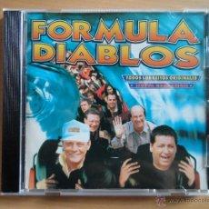 CDs de Música: AA - FORMULA DIABLOS TODOS LOS ÉXITOS ORIGINALES NUEVA GRABACIÓN CD AÑO 1996. Lote 44374320