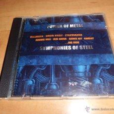 CDs de Música: POWER OF METAL - SYMPHONIES OF STEEL . Lote 44441098