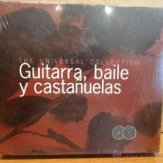 CDs de Música: GUITARRA, BAILE Y CASTAÑUELAS. DOBLE CD / KNIFE - 2000. 24 TEMAS. PRECINTADO A ESTRENAR.. Lote 44453351