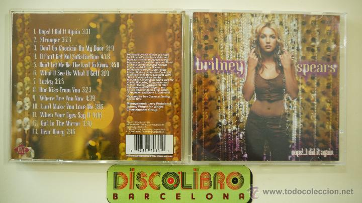 Britney Spears Oops I Did It Again Cd Buy Cd S Of Pop Music At Todocoleccion 44544589