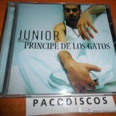 CDs de Música: JUNIOR MIGUEZ PRINCIPE DE LOS GATOS CD ALBUM DEL AÑO 2003 CONTIENE 11 TEMAS. Lote 194591003