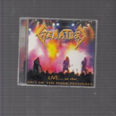 CDs de Música: CREMATORY LIVE. Lote 44672421