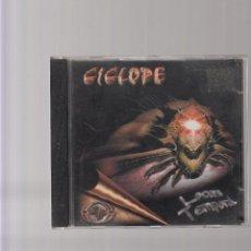 CDs de Música: CICLOPE LOCURA TEMPORAL. Lote 44674845