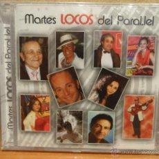 CDs de Música: MARTES LOCOS DEL PARALELO. VARIOS ARTISTAS. CD / EDIVOX - 10 TEMAS. PRECINTADO.. Lote 44674869