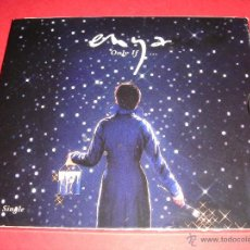 CDs de Música: ENYA / SINGLE CD / ONLY IF... + 2 DOS TEMAS INÉDITOS. Lote 44692269