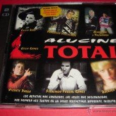 CDs de Música: ALUCINE TOTAL (CARMEN SEVILLA, PACO RABAL, LUCÍA BOSE, PACO VALLADARES, PACO CLAVEL, CELIA GAMEZ) CD. Lote 44692556