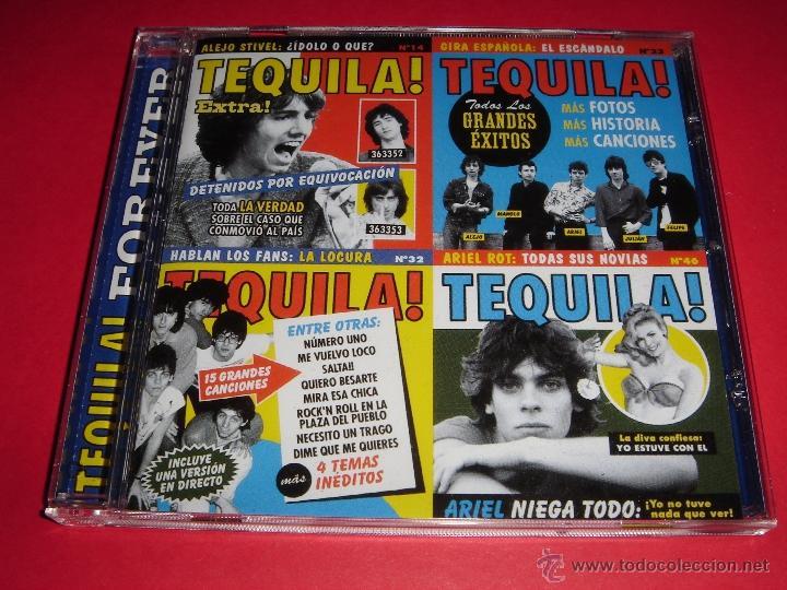TEQUILA / FOREVER / 16 ÉXITOS + 4 TEMAS INÉDITOS / GRANDES ÉXITOS / LO MEJOR DE / CD (Música - CD's Rock)