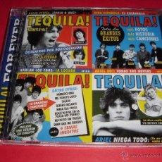 CDs de Música: TEQUILA / FOREVER / 16 ÉXITOS + 4 TEMAS INÉDITOS / GRANDES ÉXITOS / LO MEJOR DE / CD. Lote 44705408