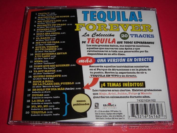 CDs de Música: TEQUILA / Forever / 16 Éxitos + 4 Temas Inéditos / Grandes Éxitos / Lo Mejor de / CD - Foto 2 - 44705408