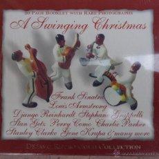 CDs de Música: JAZZ SWINGING SINATRA ARMSTRONG ETC 2 CD PRECINTADO DEJAVU R2CD 4243. Lote 44719327