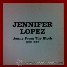 CDs de Música: JENIFFER LOPEZ - JENIFFER FROM THE BLOCK - REMIXES - CD PROMOCIONAL CON 7 TEMAS . EDICIÓN ESPAÑOLA. Lote 44740456