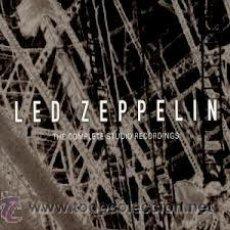CDs de Música: LED ZEPPELIN, THE COMPLETE STUDIO RECORDINGS 10 CDS, CAJA. Lote 44797195