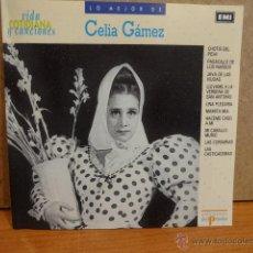 CDs de Música: LO MEJOR DE CELIA GÁMEZ. CD / EMI - 1990.10 TEMAS. CALIDAD LUJO.. Lote 44801086