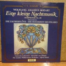 CDs de Música: MOZART - EINE KLEINE NACHTMUSIK. SYMPHONIE Nº 29. OUVERTÜREN. CD / 1990. 10 TEMAS. CALIDAD LUJO.. Lote 44806383