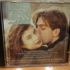 CDs de Música: THE STUDIO LONDON ORCHESTRA. ENDLESS LOVE. CD / POINT - 1991. 20 TEMAS. CALIDAD LUJO.. Lote 44807304