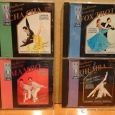 CDs de Música: BALLROOM DANCING. FOX TROT / RHUMBA / MAMBO / CHA CHA. CONJUNTO 4 CDS / CANADÁ. 40 TEMAS. LUJO.. Lote 44808332