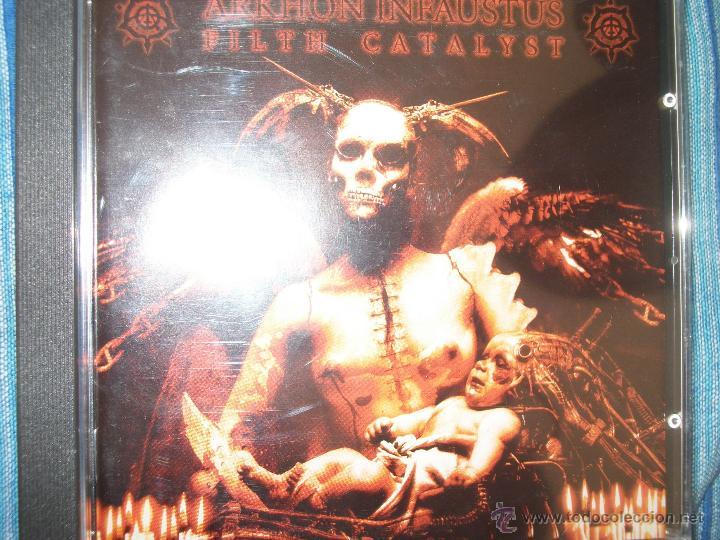 CD ARKHON IFAUSTUS - PERDITION INSANABILIST 3000 COPIAS PRECINTADO – BLACK METAL (Música - CD's Heavy Metal)