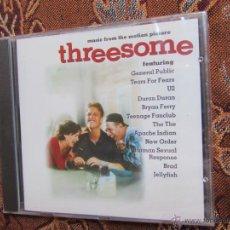 CDs de Música: CD B.S.O. THREESOME- ORIGINAL DEL 94- CON TEARS FOR FEARS, BRYAN FERRY, DURAN DURAN. ¡PLASTIFICADO¡¡. Lote 44833300