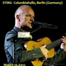 CDs de Música: STING (THE POLICE) LIVE IN COLUMBIAHALLE, BERLIN 2012. Lote 44841688