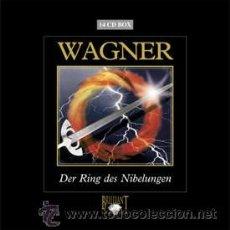 CDs de Música: RICHARD WAGNER: DER RING DES NIBELUNGEN - BADISCHE STAATSKAPELLE, GÜNTER NEUHOLD (COFRE 14 CD). Lote 44854018