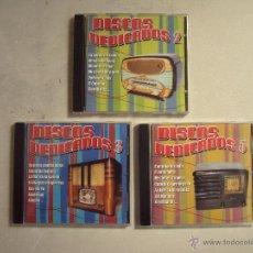 CDs de Música: 3 CDS, DISCOS DEDICADOS 2, 3 Y 5. Lote 66303227