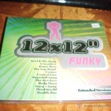 CDs de Música: 12X12'' FUNKY. EXTENDED VERSION. DIANA ROSS. THE GAP BAND. CAMEO ... 2 CD PRECINTADO. Lote 44877379
