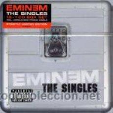 CDs de Música: EMINEM ?– THE SINGLES CD BOX, 11 CDS. Lote 46016522