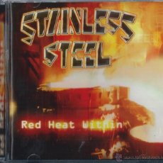 CDs de Música: STAINLESS STEEL CD RED HEAT .. 2002 NEW&SEALED TRADITIONAL POWER METAL-HELLOWEEN. Lote 44890258
