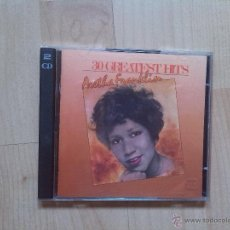 CDs de Música: ARETHA FRANKLIN - 30 GREATEST HITS 2 CDS. Lote 44897797