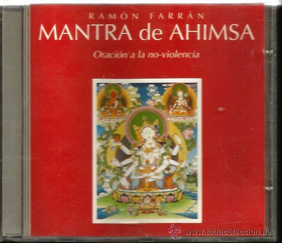 CD RAMON FARRAN : MANTRA DE AHIMSA ( ORACION A LA NO VIOLENCIA ) (Música - CD's New age)