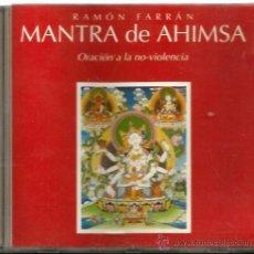 CDs de Música: CD RAMON FARRAN : MANTRA DE AHIMSA ( ORACION A LA NO VIOLENCIA ) . Lote 44913918