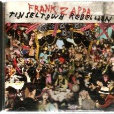 CDs de Música: CD FRANK ZAPPA : TINSEL TOWN REBELLION . Lote 44914009