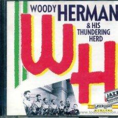 CDs de Música: CD 1992 - WOODY HERMAN & HIS THUNDERING HERD. Lote 44919858