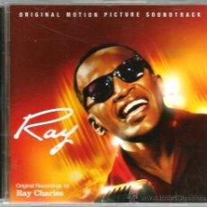 CDs de Música: CD BANDA SONORA : RAY - REGISTROS ORIGINALES DE RAY CHARLES . Lote 44919973