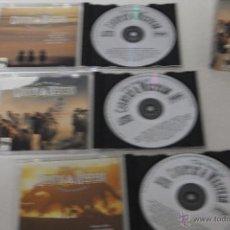 CDs de Música: 3 CD'S MUSICA COUNTRY. THE BEST COUNTRY WESTERN. ORIGINAL ARTIST, JOHN DENVER, WILLIE NELSON .... Lote 44925177