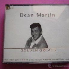 CDs de Música: DEAN MARTIN. GOLDEN GREATS. 3 CD.. Lote 44946434