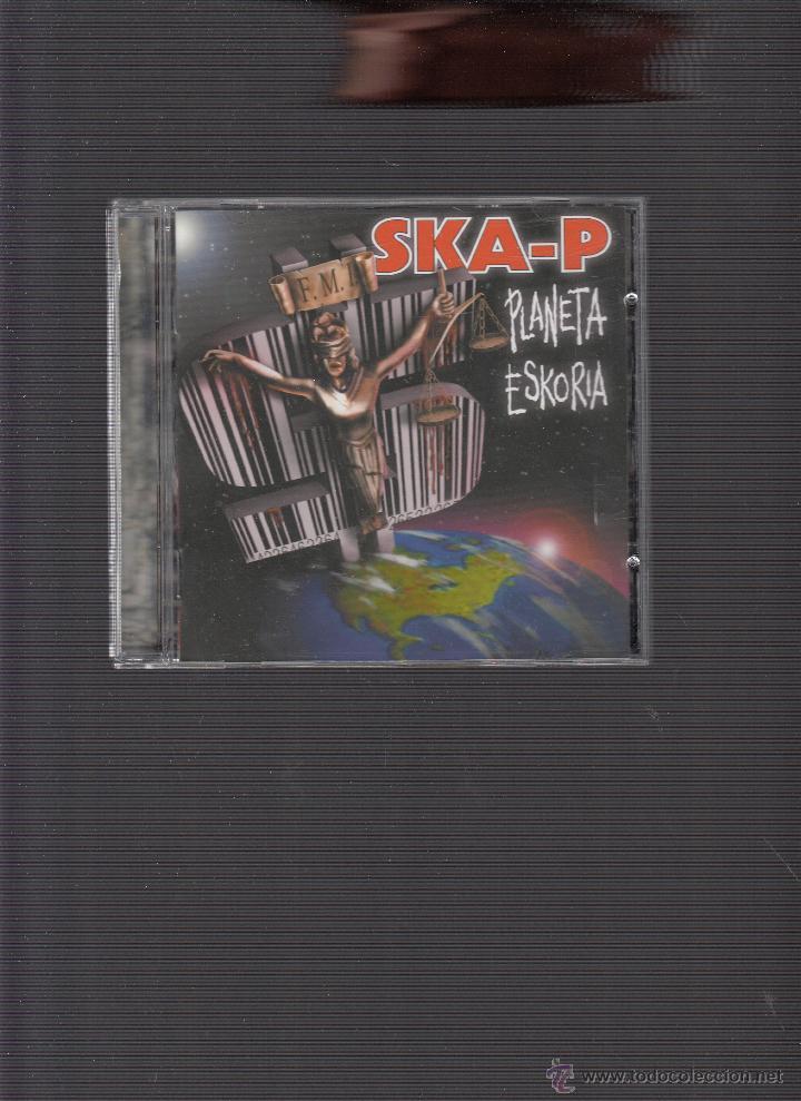 SKA-P PLANETA ESKORIA (Música - CD's Heavy Metal)