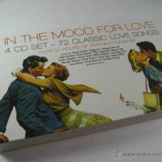 CDs de Música: IN THE MOOD FOR LOVE, LOTE 4 CDS CANCIONES DE AMOR, CLASICOS, FRANK SINATRA, DORIS DAY, DEAN MARTIN.. Lote 44947945