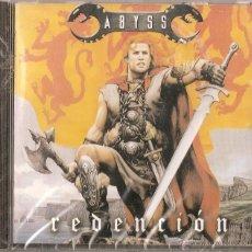 CDs de Música: ABYSS CD REDENCION,SPANISH HEAVY 2002-SARATOGA-ZENOBIA-ARKANIA-MAGO DE OZ.TIERRA SANTA-LEYENDA-EDEN. Lote 44952221