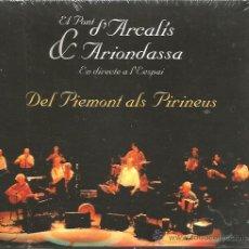 CDs de Música: CD EL PONT D´ARCALIS & ARIONDASSA - EN DIRECTE A L´ESPAI . Lote 44954762