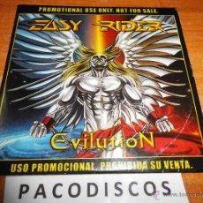 CDs de Música: EASY RIDER EVILUTION CD ALBUM PROMOCIONAL DE CARTON AÑO 2000 12 TEMAS HEAVY METAL. Lote 44963885