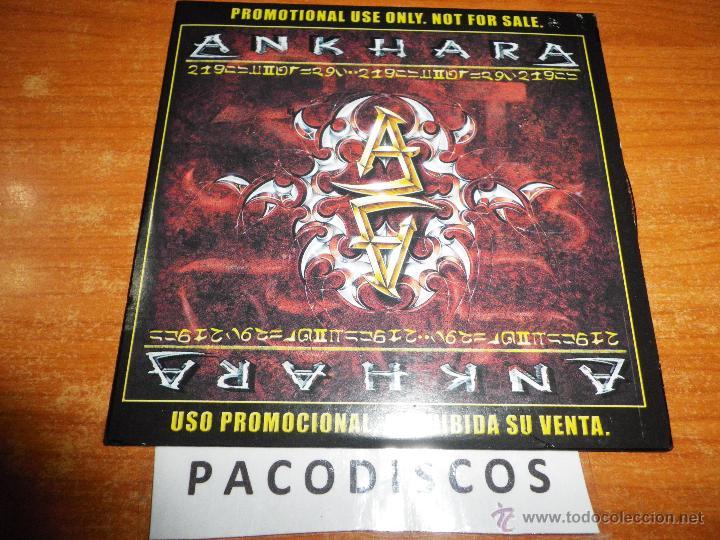 ANKHARA ANKRARA II CD ALBUM PROMOCIONAL DE CARTON CONTIENE 11 TEMAS HEAVY METAL ESPAÑOL RARO (Música - CD's Heavy Metal)