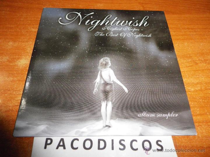 NIGHTWISH HIGHEST HOPES CD ALBUM DEL AÑO 2005 CONTIENE 16 TEMAS ROCK HEAVY FINLANDIA METAL SINFONICO (Música - CD's Heavy Metal)
