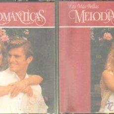 CDs de Música: LAS MÁS BELLAS MELODIAS ROMÁNTICAS. (1,2 & 3) - (4 & 8). CD-DOBLE-170. Lote 44979853