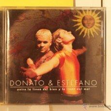 CDs de Música: DONATO & ESTEFANO - ENTRE LATINA DEL BIEN Y DEL MAL LATINO - CD. Lote 44982172