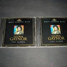 CDs de Música: 2 CD GLORIA GAYNOR MOST FAMOUS HITS THE ALBUM. Lote 44998641