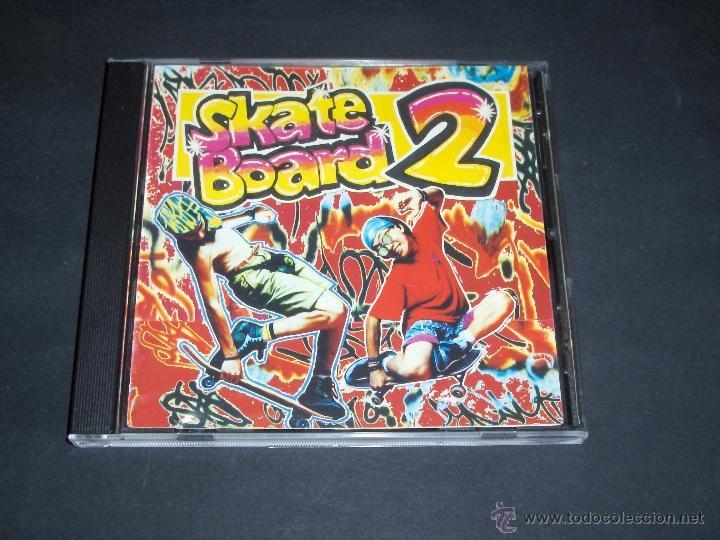 CD SKATE BOARD 2 MIX BLANCO Y NEGRO MUSIC 1991 (Música - CD's Disco y Dance)