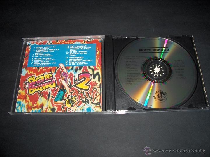 CDs de Música: CD SKATE BOARD 2 MIX BLANCO Y NEGRO MUSIC 1991 - Foto 2 - 45001821