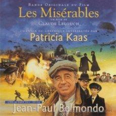 CDs de Música: LES MISÉRABLES / FRANCIS LAI & MICHEL LEGRAND CD BSO. Lote 45016694